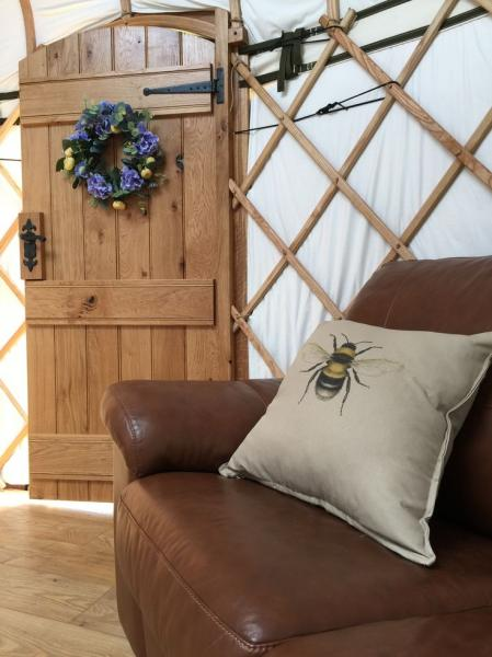 interior yurt shot