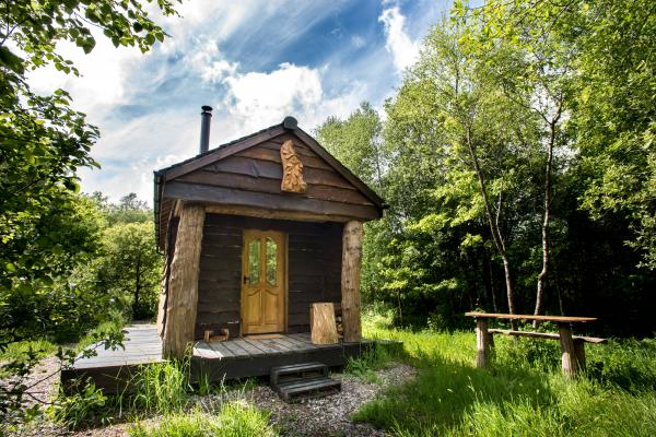 Bulworthy Project off grid Cabin in the Woods