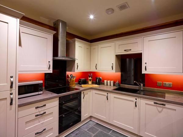 Modern kitchen with mod cons