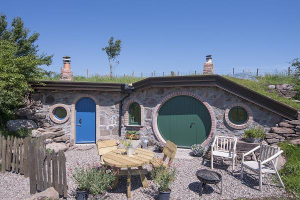 The Burrow Hobbit House