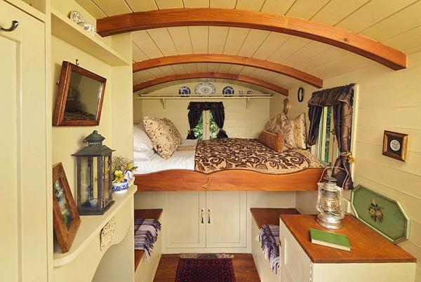 Gypsy Caravan inside