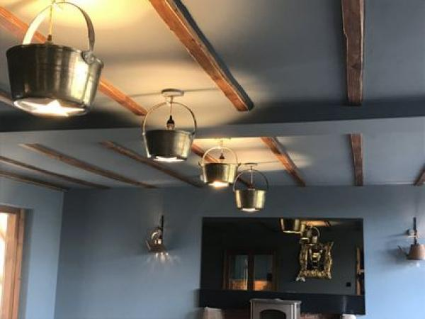 Quirky style saucepan lights