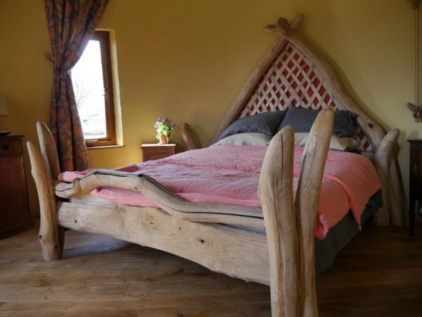 Handmade bed