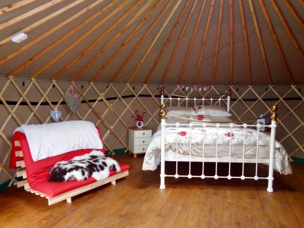 Yurt sleeping facilities