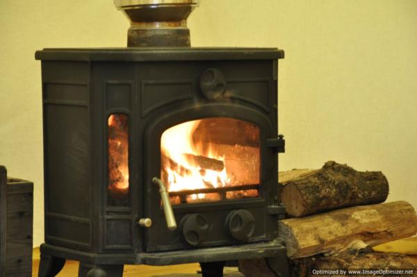 woodburner to keep you cosy