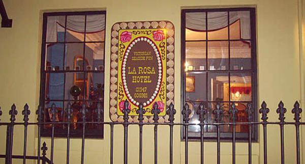 quirky La Rosa Hotel
