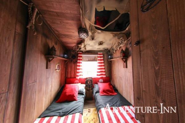 Childrens interactive bedroom