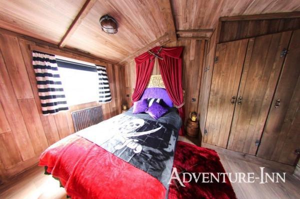 Opulent masters bedroom