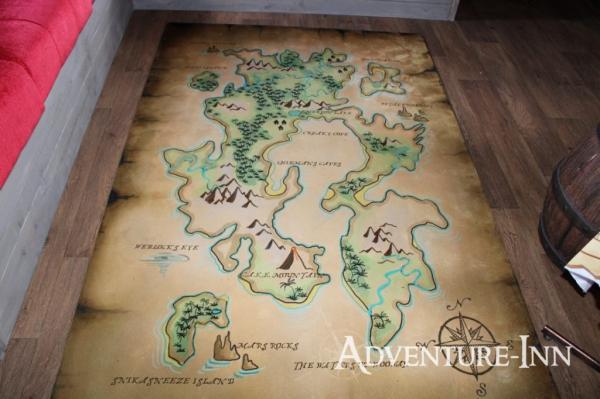Treasure Map Rug