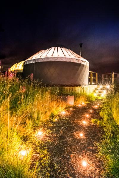 Yurt and ensuite
