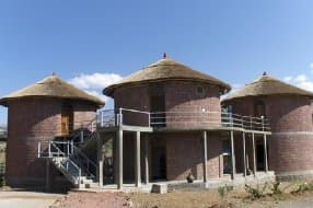 modern african style huts