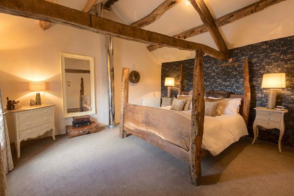 Shepherds Cottage Romantic bedroom