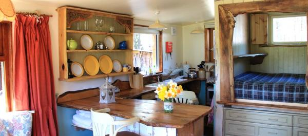 kitchenette in Lambing Bothy