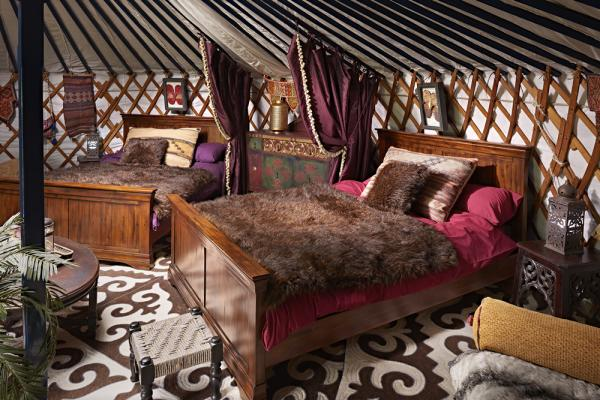 Elephant Yurt sleeps 8