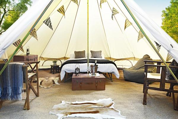 Blixen Bell Tents for group bookings