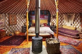 The Maharajas Yurt
