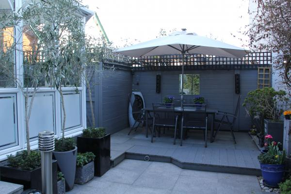 Secluded Patio Garden - suitable for all-over tan