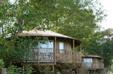 2 eco tree houses
