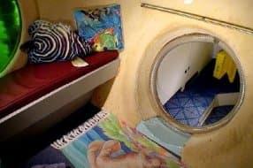 inside Jules Undersea Lodge