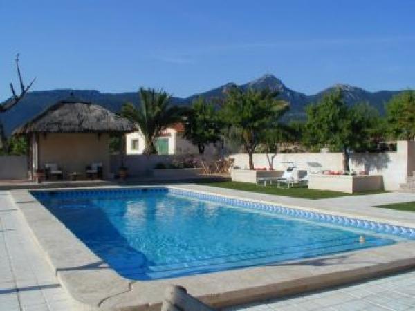 swimming pool at Casa del Mundo