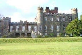 Scottish castle spa hotel