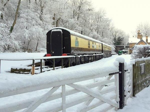 Coalport in winter