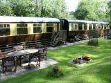 carriage dining areas and 3 acres of grounds