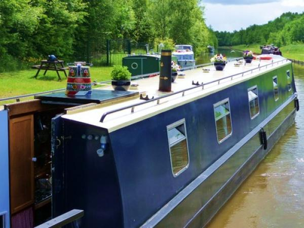 mooring on the Bridgewater Canal