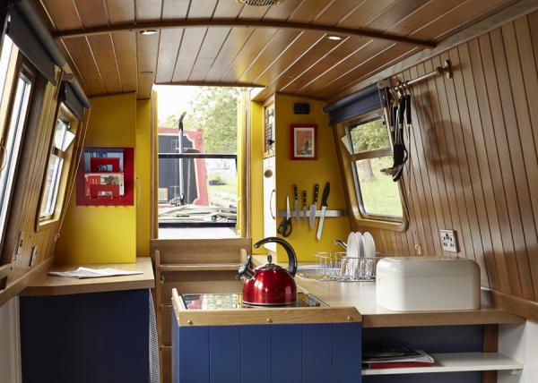 colourful interior of Queenie