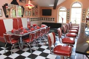 The American diner table