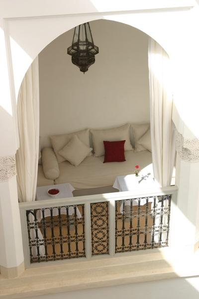 View of loggia from Oleander room