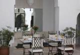 courtyard for breakfast