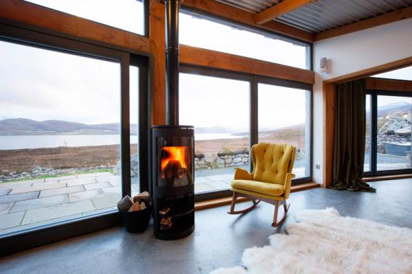 keep cosy with a woodburner