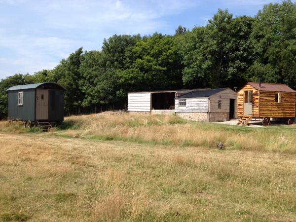 Huts with Stable and Barn