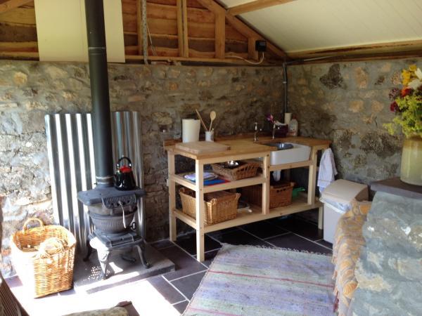 Inside the Stone Hut