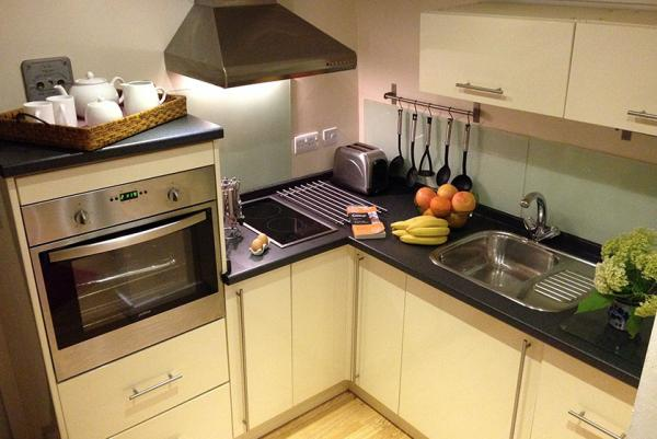 kitchen in Derwent Mail carriage