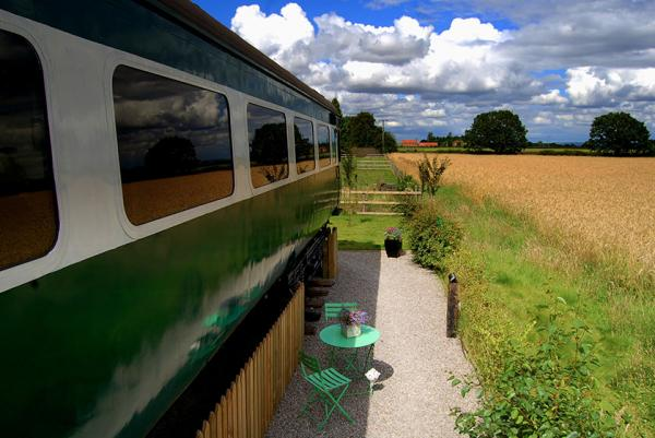 country views from carriage