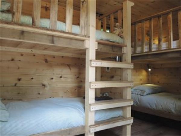 Hideaway bunk room