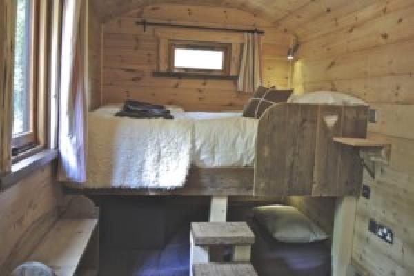 Hideaway master bedroom