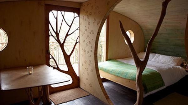 a Welsh treehouse getaway