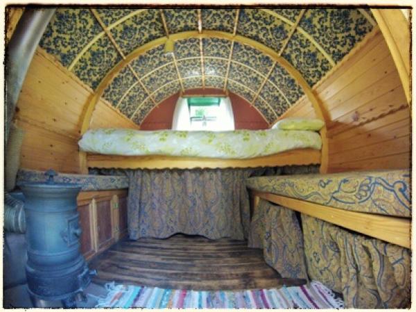 Zingaro interior of the wagon