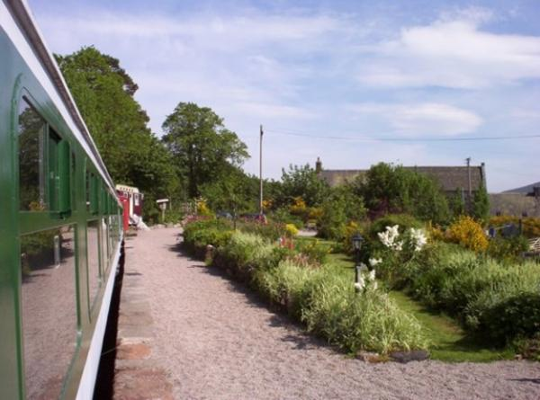 garden view from carriage