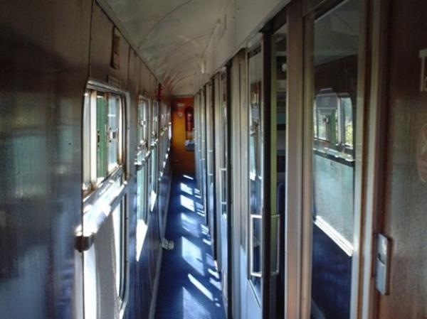 hostel train corridor