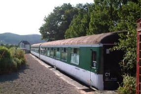 train carriage hostel