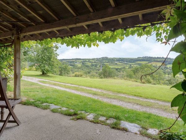 take in the views whilst enjoying a glass of wine under the cover verandah of The Smithy
