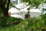 The Yurt Farm in West Wales