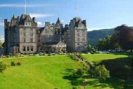 impressive castle hotel