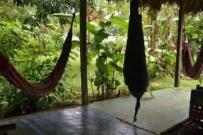 be prepared to sleep in a hammock