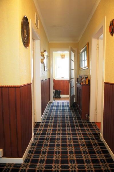 cottage corridor to front door