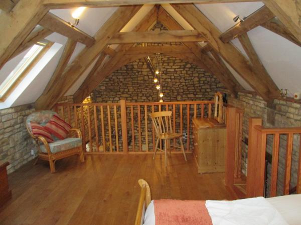 Whippletree mezzanine bedroom